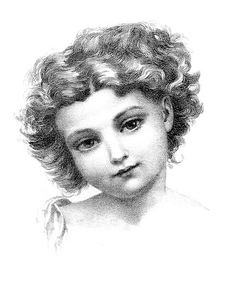 Drawing-Little-Girl-Vintage-Image-GraphicsFairy (331x400, 87Kb)
