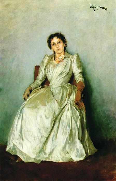 Портрет Софьи Петровны Кувшинниковой. 1888 (448x700, 47Kb)