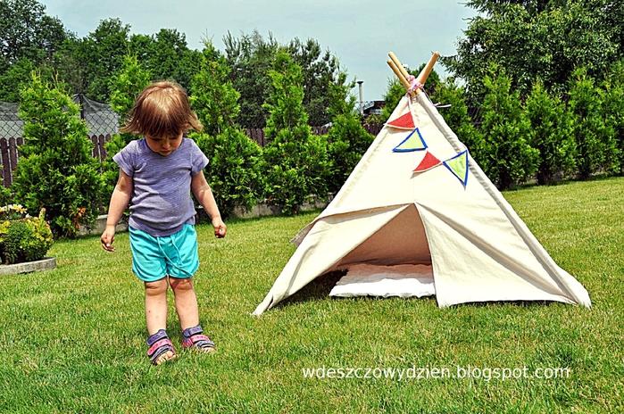 Детская палатка ВИГВАМ своими руками (4) (700x464, 364Kb)