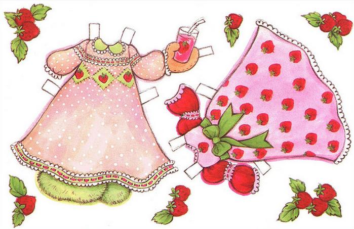 Бумажные вырезалки - одевалки для девочек (13) (700x453, 478Kb)