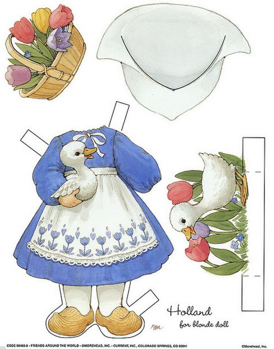 Бумажные вырезалки - одевалки для девочек (17) (549x700, 509Kb)