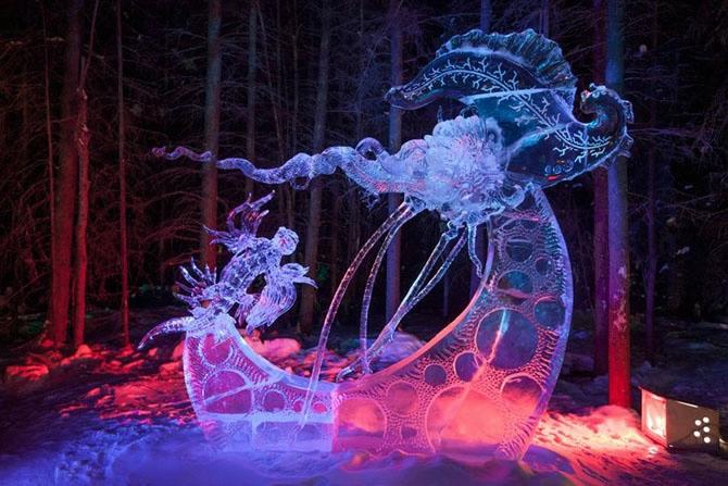 ледяные скульптуры фото (670x447, 228Kb)