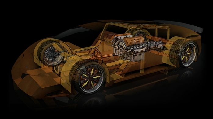 деревянный автомобиль Splinter фото 3 (700x392, 117Kb)