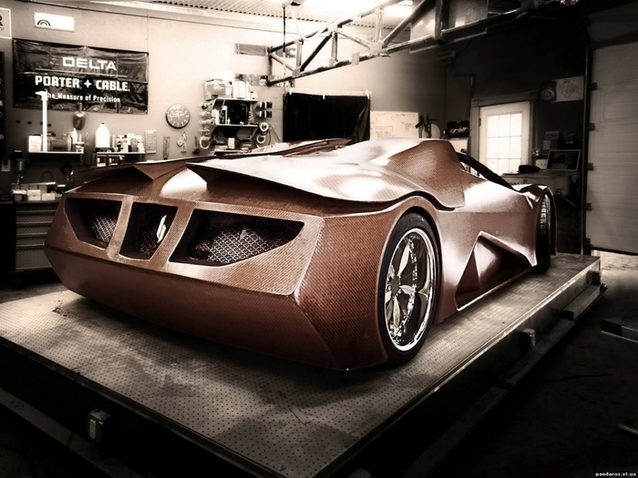 деревянный автомобиль Splinter фото (700x525, 241Kb)