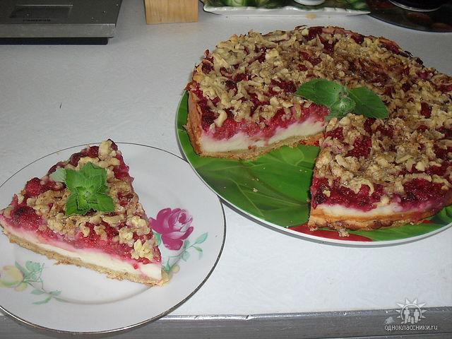 творожно-малиновый пирог (640x480, 90Kb)