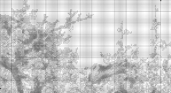 сакура и карпы схема (700x379, 233Kb)