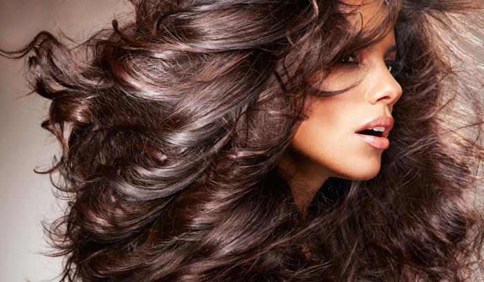 Красивые волосы фото со спины - 3
