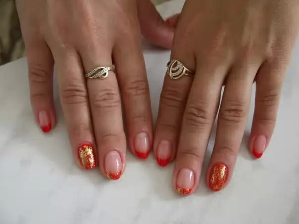 Нарощенные ногти фотографии дизайн 2013