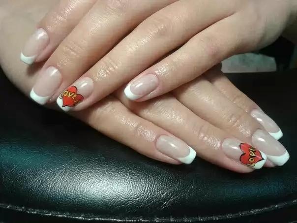 Дизайн ногтей фото френч новинки 2013
