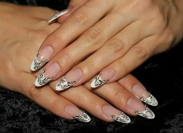 Дизайн нарощенных ногтей новинки