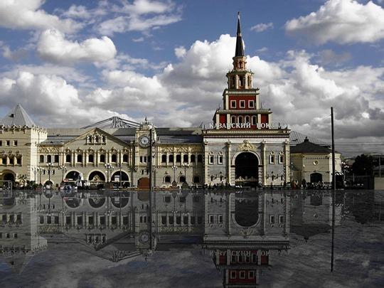 Выставка, посвященная Казанскому вокзалу