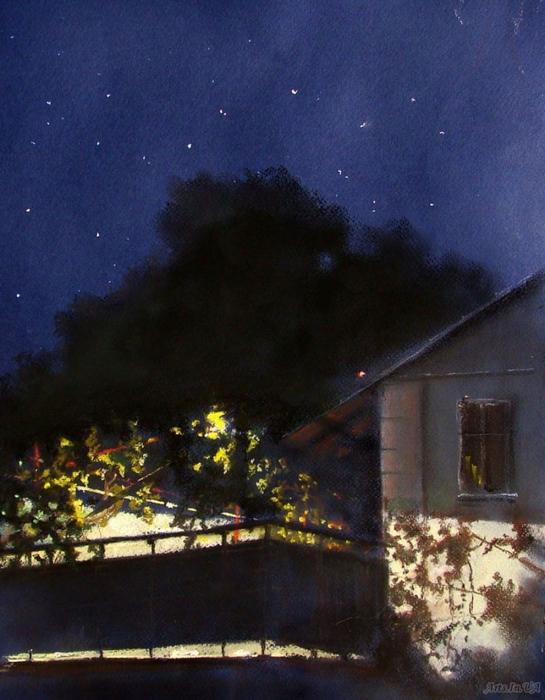 августа ночь