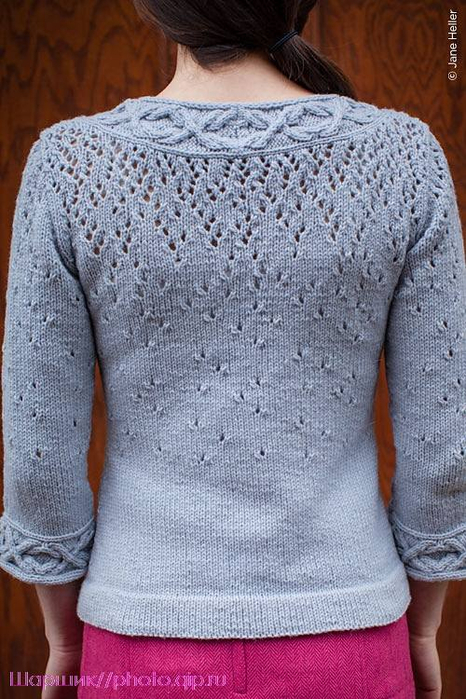"""针织:同一种模式三种不同款式的""""玻璃上的雨滴""""(不规律的) - maomao - 我随心动"""