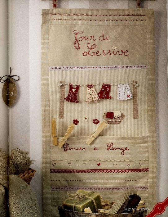 Celine Girgenti-Furykiewicz - Rouge, passionnement... Broderie-Applique-Couture (Home sweet home) - 2012_75 (542x700, 311Kb)