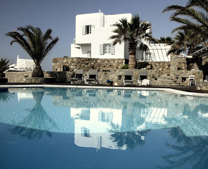 Отель san giorgio на греческом острове