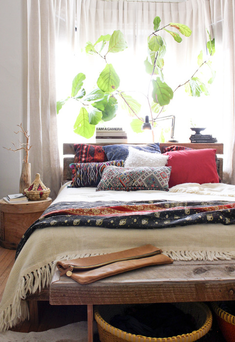 Bohemian Bedroom Makeover