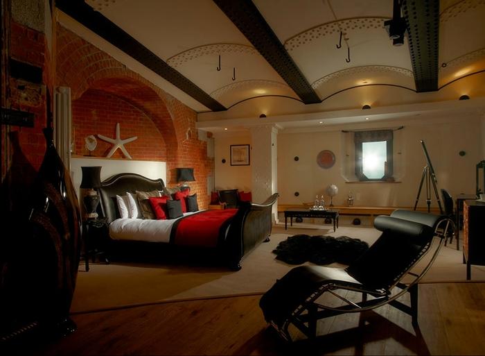 необычный отель Spitbank Fort фото 7 (700x513, 225Kb)