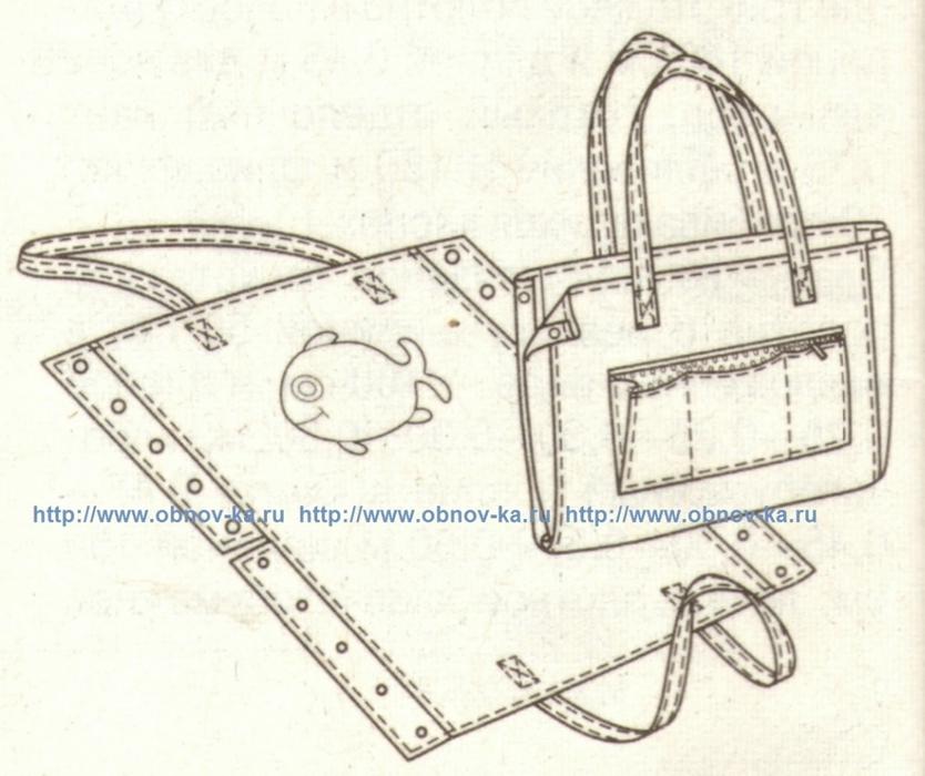 Как сшить пляжную сумку рюкзак