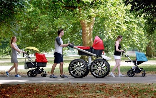 Детская коляска внедорожник от компании Skoda