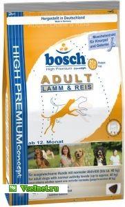 Корм сухой Вosch 1427-4787 Adult (ягненок и рис) для взрослых собак 1 кг (181x300, 22Kb)