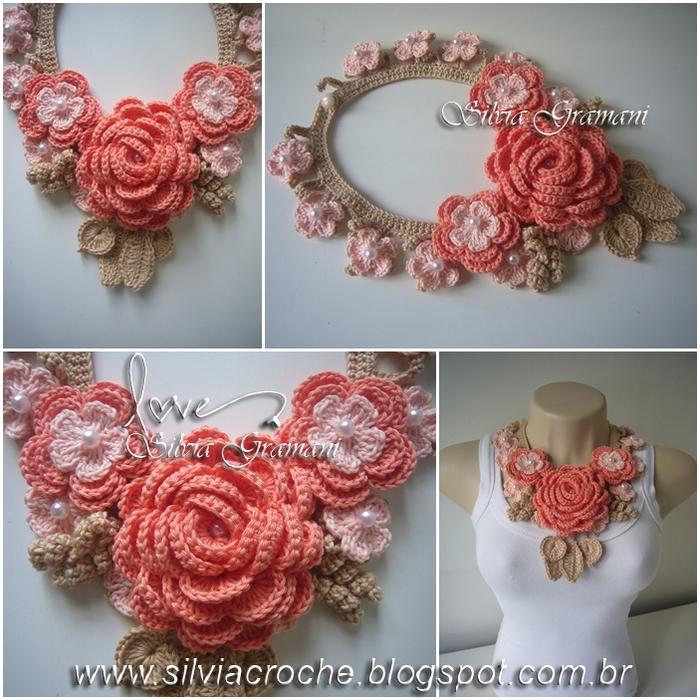 Silvia Gramani colar afrodite bege rosa e laranja (700x700, 392Kb)