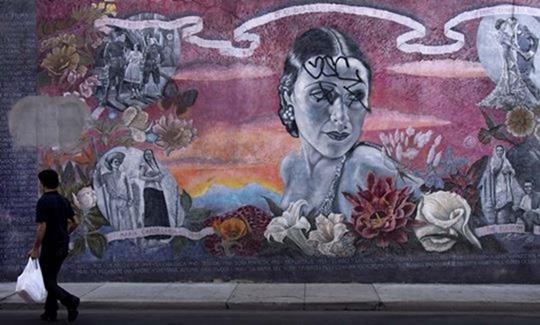 Стрит-арт: потрясающие граффити в Лос-Анджелесе
