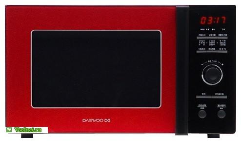 Микроволновая печь Daewoo KOR-8A3R (494x293, 27Kb)
