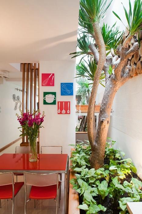 дерево в интерьере квартиры фото 7 (466x700, 263Kb)