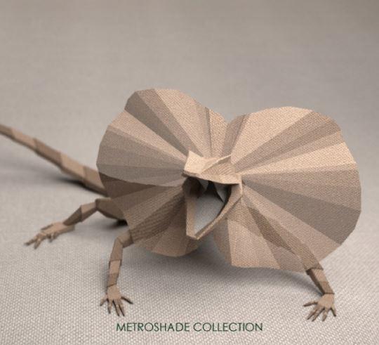Джереми Кул. 3D-животные для бренда TexStyle
