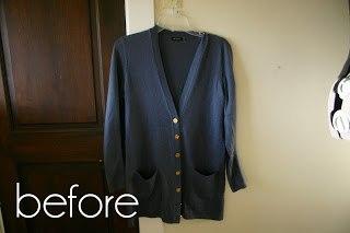 赋予旧毛衣一个新的生命 17:开襟毛衣的改造(大师班) - maomao - 我随心动