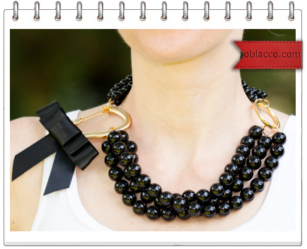 Ожерелье из обычных бус своими руками
