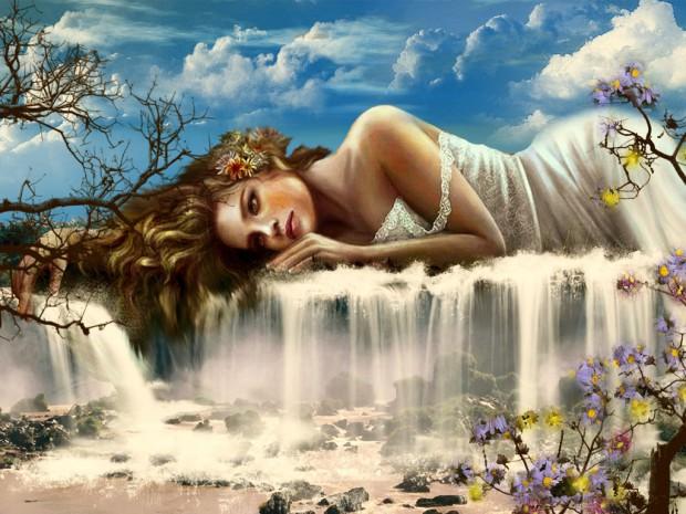 Водопад богов причёска водопад видео