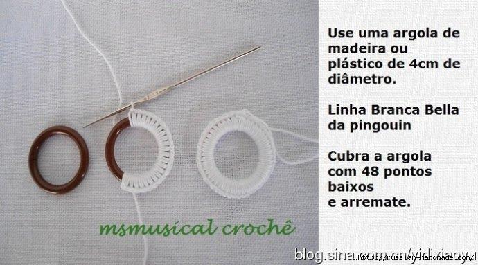Самая красивая обвязка крючком. Салфетки и полотенца (32) (690x383, 150Kb)