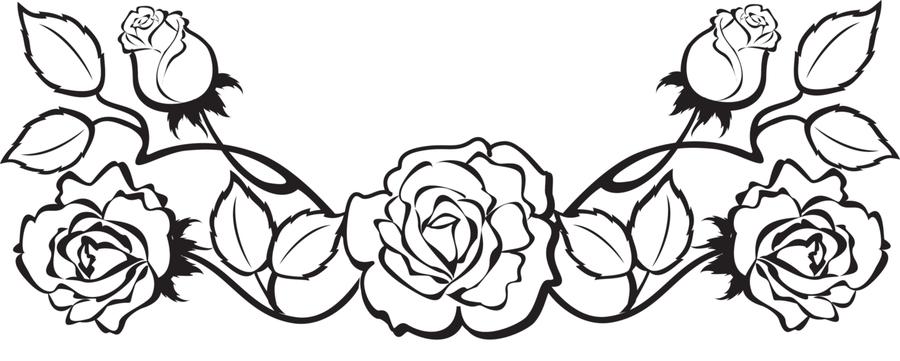 Цветы в черно белом цвете
