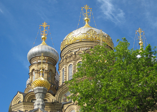 Купола Успенской церкви (500x357, 121Kb)