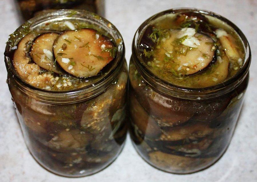 Рецепты салатов из баклажанов на зиму