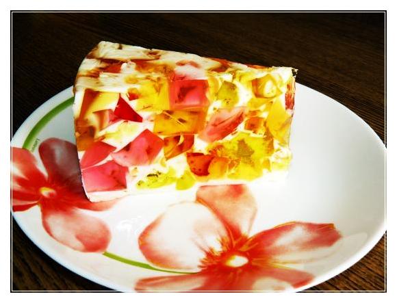 битое стекло с бисквитом рецепт с фото