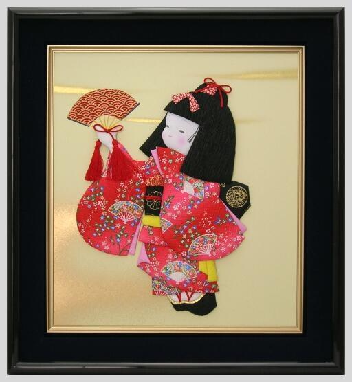 Панно с японскими куклами в технике пэчворка без иголки (2) (512x556, 104Kb)