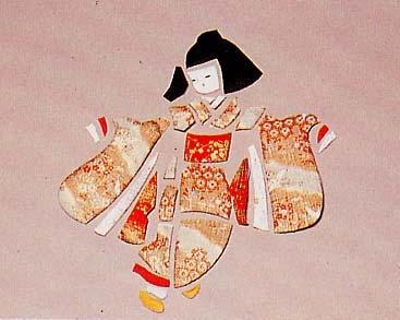 Панно с японскими куклами в технике пэчворка без иголки (13) (367x293, 64Kb)