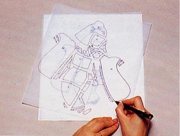 Панно с японскими куклами в технике пэчворка без иголки (24) (361x273, 51Kb)