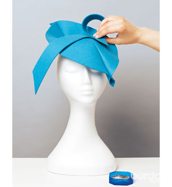 Как сделать шляпку из фетра мастер класс
