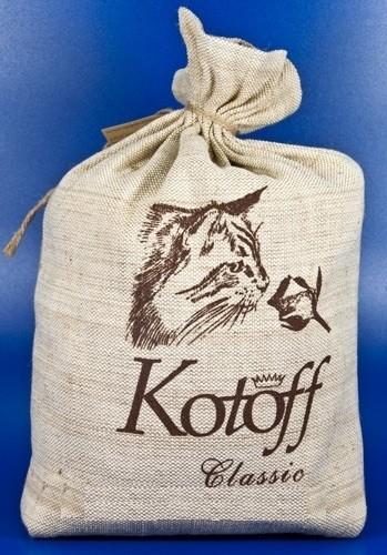 Наполнитель для туалета Kotoff Classic комкующийся 5кг холщовый мешок (349x500, 71Kb)