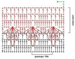схема узора гусиные лапки (250x198, 48Kb)