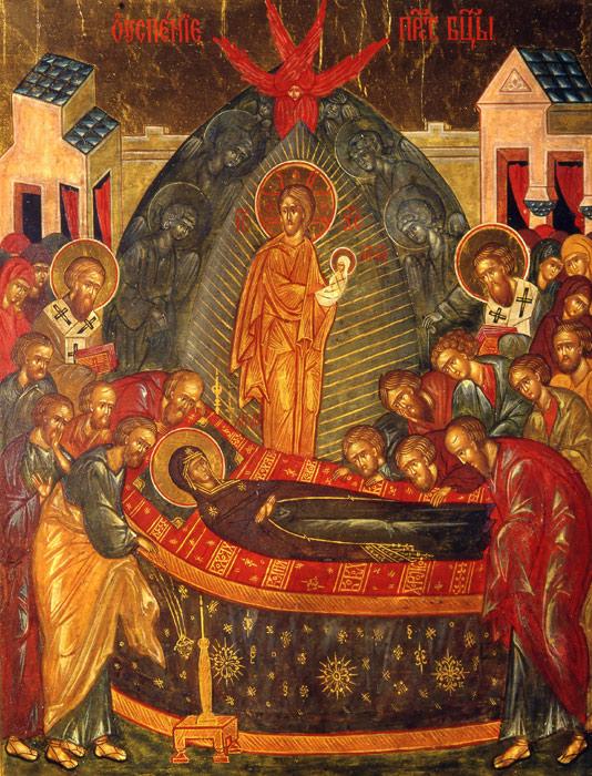 Успение Божией Матери (534x700, 175Kb)