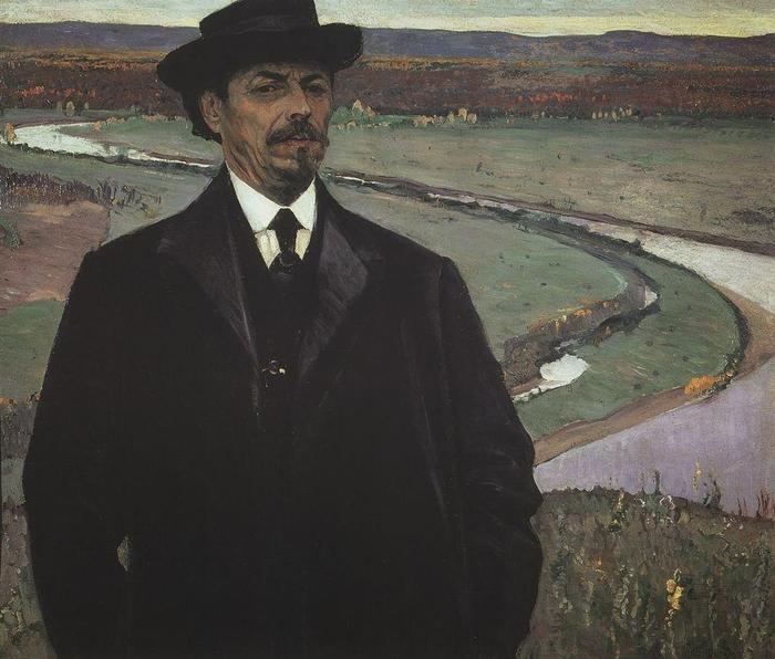1915 avtoportret (700x596, 274Kb)