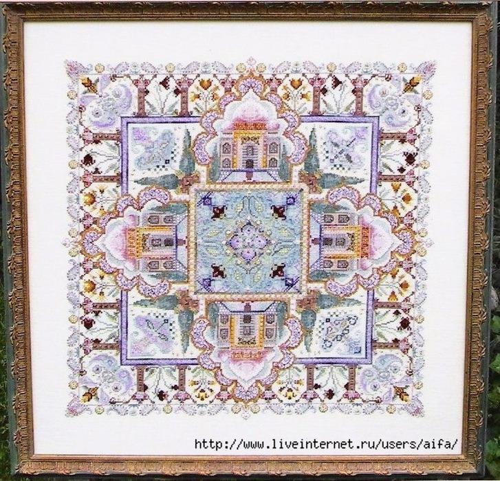 """CHAT 039 """"Taj Mahal Mandala"""