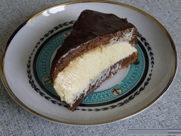 Птичье молоко наоборот торт