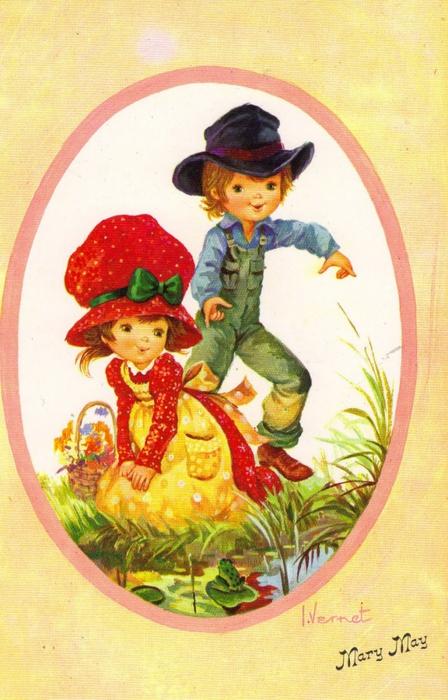 детские открытки скачать: