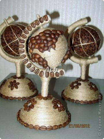 Глобус из конфет своими руками мастер класс