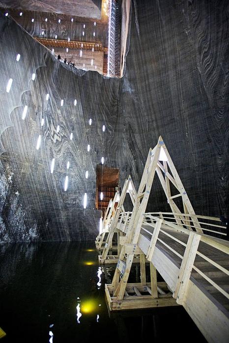 соляная шахта Салина Турда румыния 10 (466x700, 286Kb)